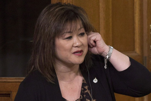 La députée Wai Young... (PHOTO ARCHIVES LA PRESSE CANADIENNE)
