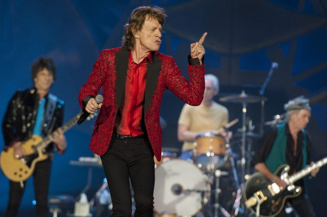 Mick Jagger et sa bande étaient de passage... (Associated Press)