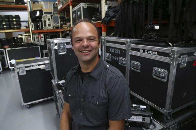 Le président fondateur de Show Devant, Mathieu Dupuis.... (photo Janick Marois)
