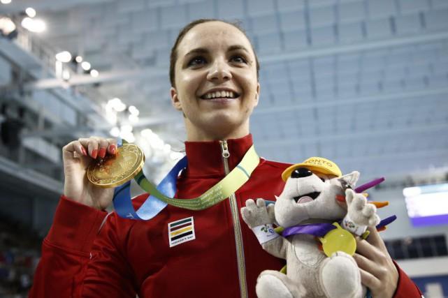 Audrey Lacroix a décroché la médaille d'or au... (PHOTO REUTERS)