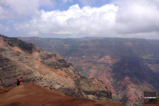 Hawaï regorge de paysages-surprises. Plages, forêts tropicales, volcans...... (La Tribune, Camille Dauphinais-Pelletier)