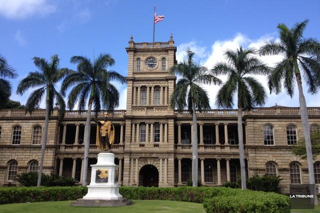 À voir en se promenant au centre-ville d'Honolulu:... (La Tribune, Camille Dauphinais-Pelletier)