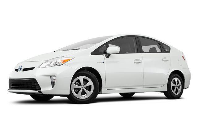 La Toyota Prius.... (PHOTO EVOX)
