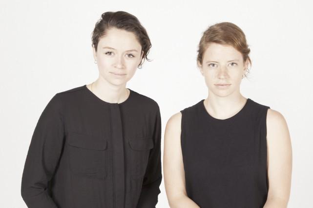 Élyse Leclerc et Gabrielle Falardeau... (Photos fournies par Jarre)