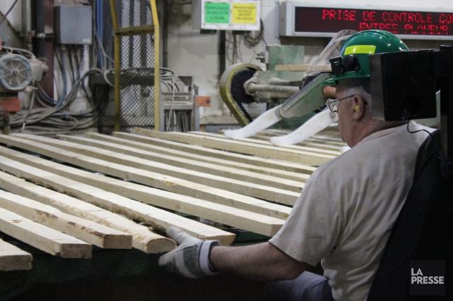 Même si l'entreprise ferme ses portes demain, les travailleurs de Billots... (Archives La Presse)