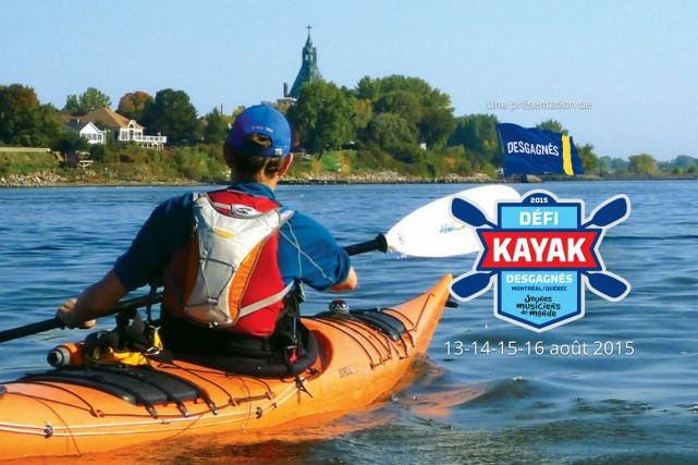 Le Soleilsera sur l'eau pour le Défi kayak... (Photo Défi kayak Desgagnés)