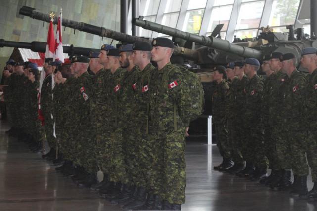 Un contingent des Forces armées canadiennes participera à la marche de Nimègue... (Étienne Ranger, LeDroit)