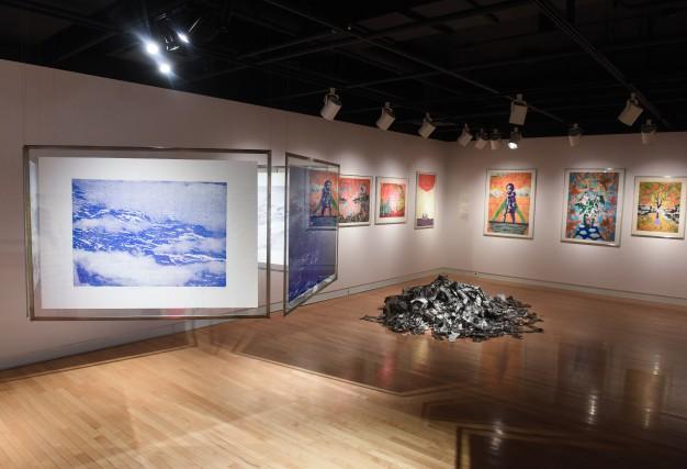 L'évènement donne accès à 57 univers d'artistes en... (photo: François Gervais)