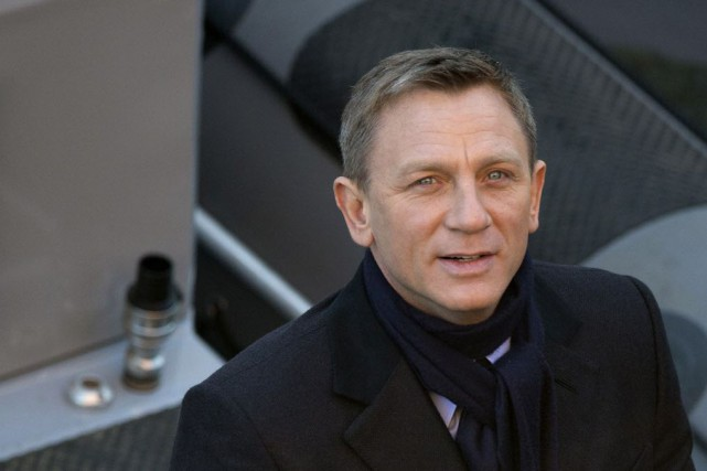 Daniel Craig... (Photo Alastair Grant, archives AP)