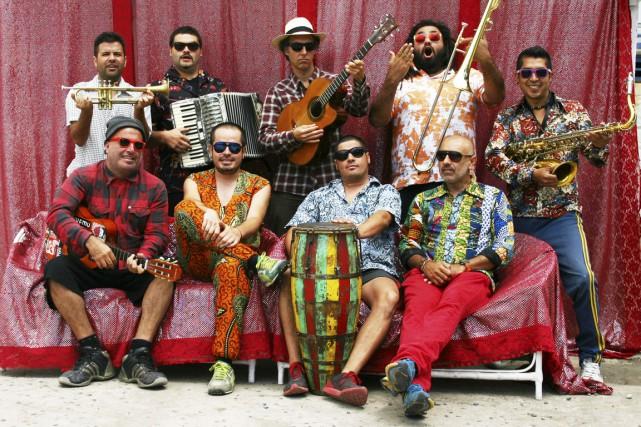 Depuis 2001, Chico Trujillo a enregistré sept albums,... (Photo fournie par Nuits d'Afrique)