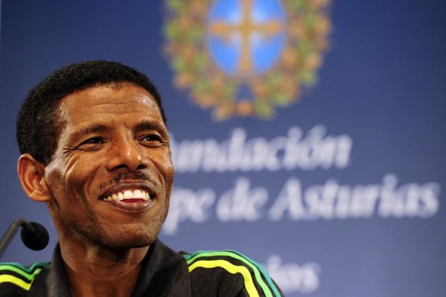 La légende de l'athlétisme éthiopien Haile Gebreselassie devrait... (PHOTO JAVIER SORIANO, ARCHIVES AFP)