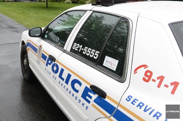 Une chicane de longue date entre voisins a mené à l'arrestation mardi matin... (Archives La Tribune)