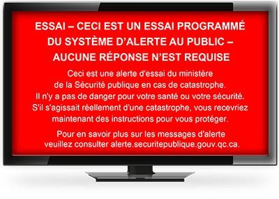 Le téléviseur de gens de la MRC du Val-Saint-François émettra un signal... (Photo site web MSP)