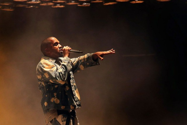 Kanye West sera accompagné du rappeur Pitbull et... (Photo Joel Ryan/Invision, archives AP)