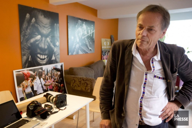Les photos de Jacques Nadeau représentent 37 ans... (La Presse, Patrick Sanfaçon)