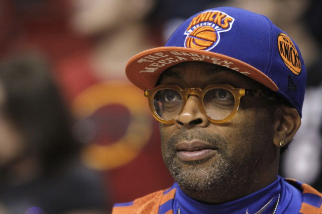 Spike Lee... (PHOTO AP)