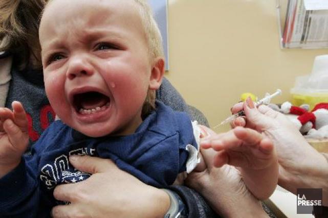 En 1994, avant que le vaccin ne soit... (Photo André Pichette, archives La Presse)