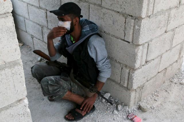 La guerre en Syrie a fait plus de... (PHOTO REUTERS)