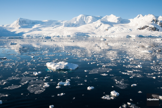 En mars, les glaces de l'océan Arctique étaient... ((Archives Le Quotidien))