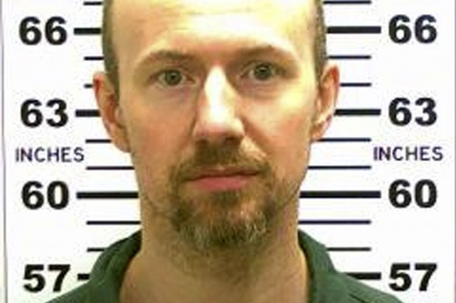 David Sweat... (PHOTO REUTERS/POLICE DE L'ÉTAT DE NEW YORK)