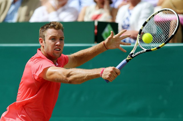 Jack Sock... (Photo archives Reuters)