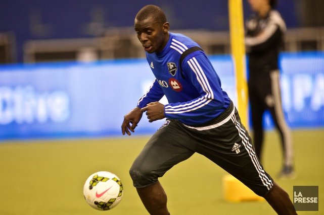Bakary Soumare... (Photo André Pichette, archives La Presse)