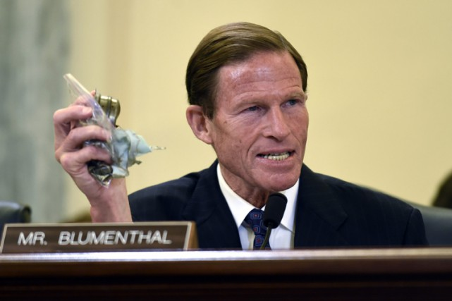 Le sénateur démocrate Richard Blumenthal.... (ARCHIVES AP)