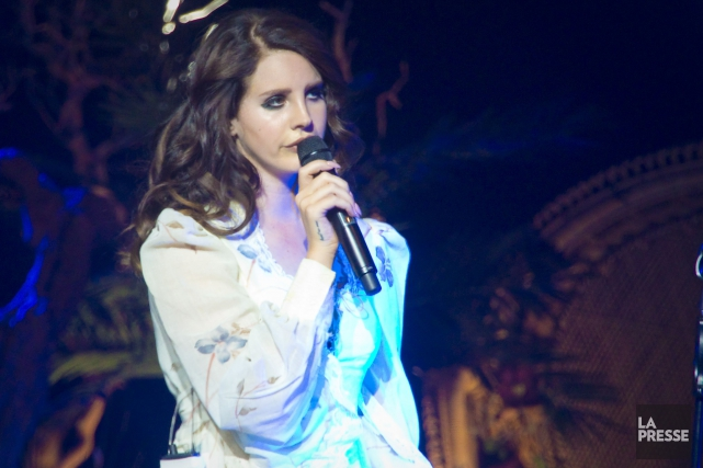 Lana Del Rey... (PHOTO ANDRÉ PICHETTE, ARCHIVES LA PRESSE)