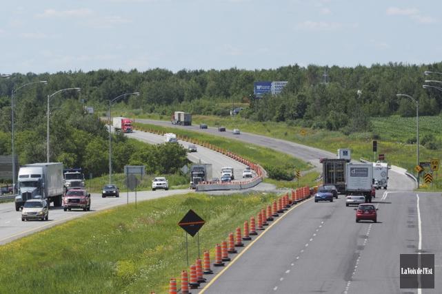 Le ministère des Transports du Québec (MTQ) lancera... (PHOTO ALAIN DION, ARCHIVES LA VOIX DE L'EST)