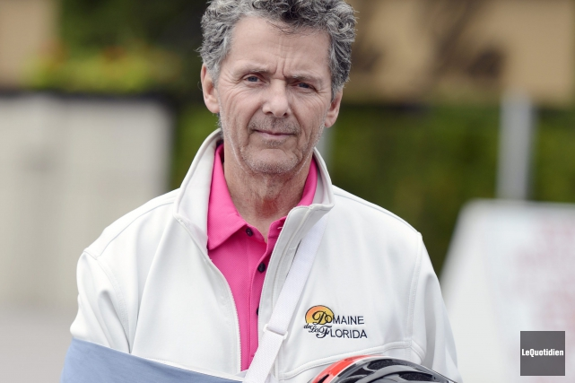 Clément-Marie Fortin est encore en vie grâce à... ((Photo Le Quotidien Louis Potvin))