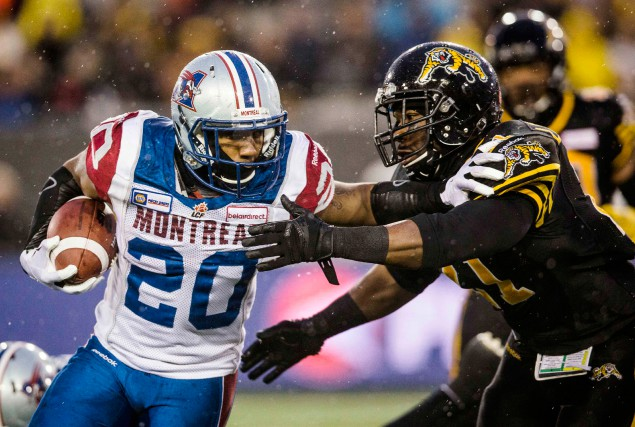 Les Tiger-Cats de Hamilton ont éliminé les Alouettes... (PHOTO MARK BLINCH, ARCHIVES REUTERS)