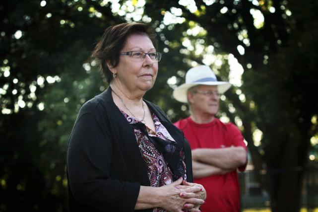 Stella Rathwell et son mari Gérard Émond ont... (Étienne Ranger, LeDroit)
