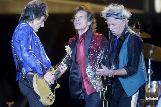 Les Rolling Stones, qui après cinquante ans de carrière restent toujours l'un... (PHOTO ARCHIVES LE SOLEIL)
