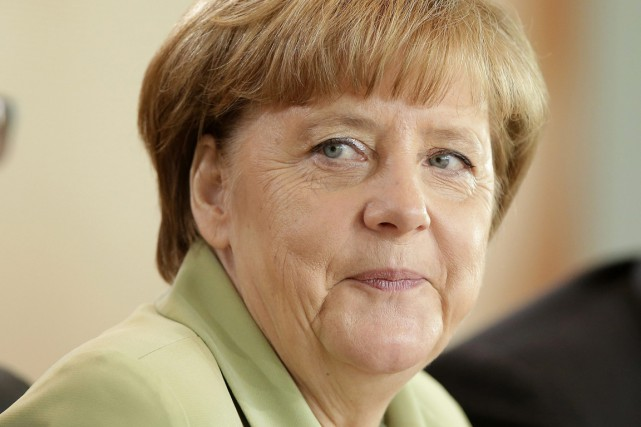 Angela Merkel... (PHOTO MICHAEL SOHN, AP)