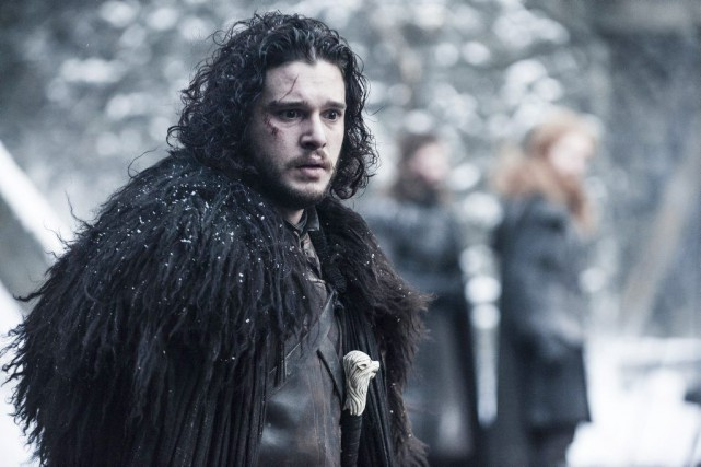 Kit Harington incarne Jon Snow dans Game of... (PHOTO FOURNIE PAR HBO)