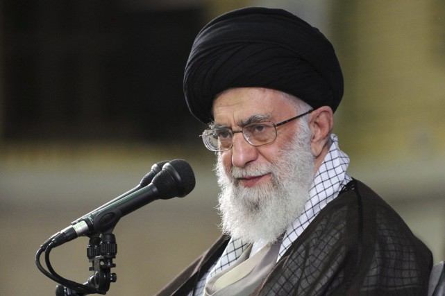 Le guide suprême iranien Ali Khamenei... (PHOTO ARCHIVES AP)