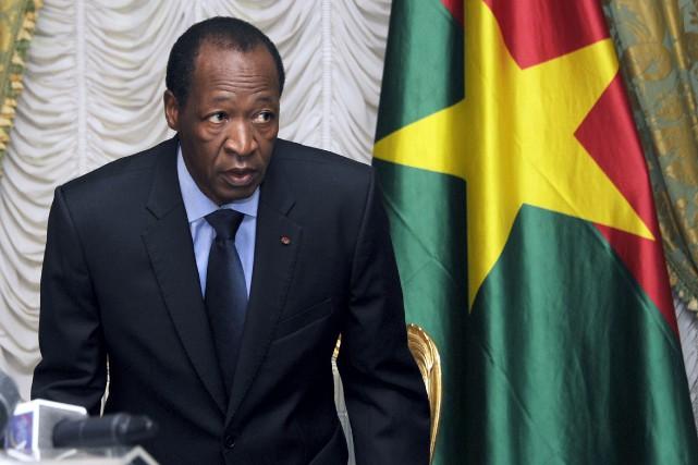 Compaoré est notamment accusé par les députés de... (PHOTO ARCHIVES AFP)
