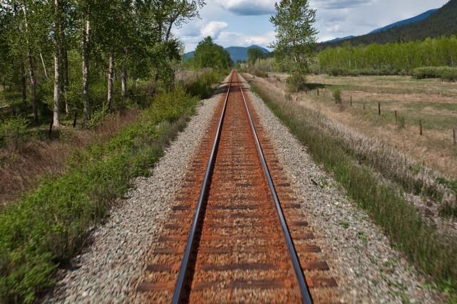 Le projet de train de passagers entre Montréal et le Vermont, via les... (Archives La Presse)