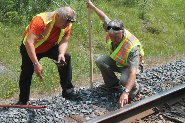 Lundi, l'expert en transport ferroviaire, Jacques Daniel Vandersleyen... (Photo collaboration spéciale Gilles Thibodeau)