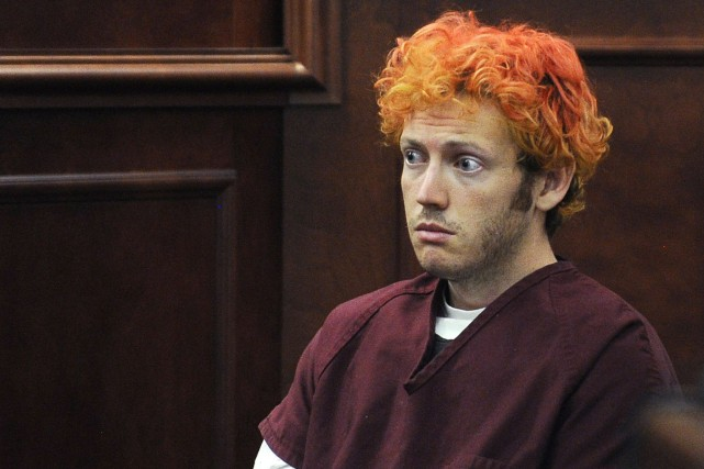 James Holmes, 27 ans, a plaidé non coupable... (PHOTO ARCHIVES AP)