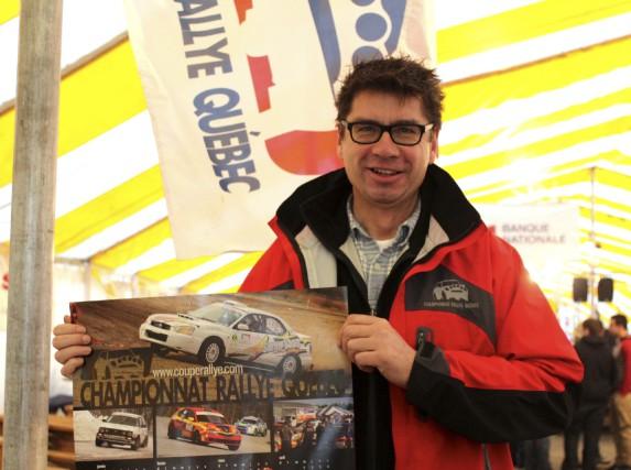 Le président du Championnat des rallyes du Québec,... (Audrey Tremblay)