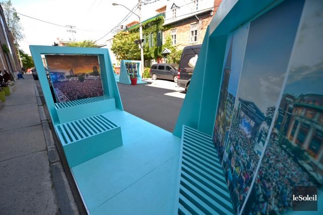Les stationnements sont installés rue Crémazie dans le... (Le Soleil, Yan Doublet)