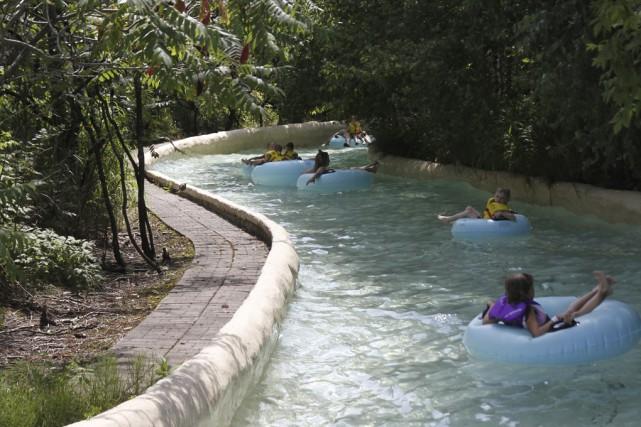 La rivière Cunucunoma, en place depuis l'ouverture d'Amazoo... (photo Julie Catudal)