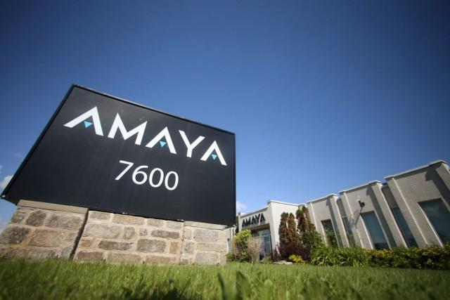 L'action d'Amaya a reculé jusqu'à 16,51 $ en... (Photo Christinne Muschi, archives Reuters)