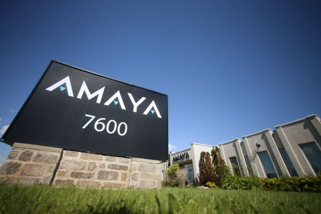 Amaya a réalisé la plus importante transaction financière... (Photo Christinne Muschi, archives Reuters)