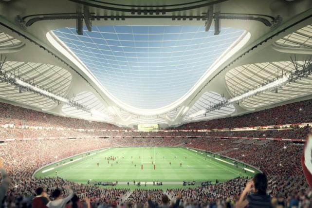 Le gouvernement a subi énormément de critiques depuis... (Photo Japan Sport Council, AP)
