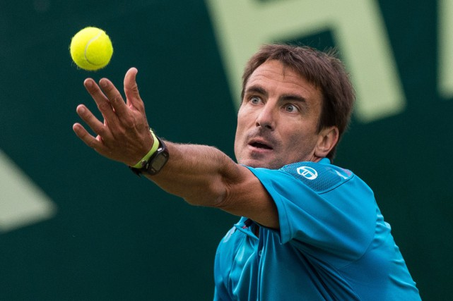 Tommy Robredo... (Photo d'archives, AFP)