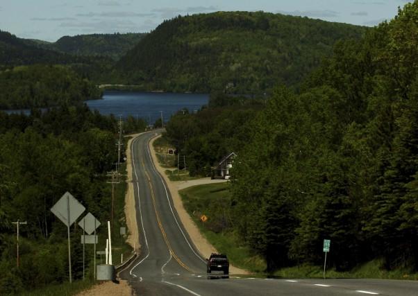 La route 155 qui traverse Saint-Roch-de-Mékinac est jugée... (Sylvain Mayer)