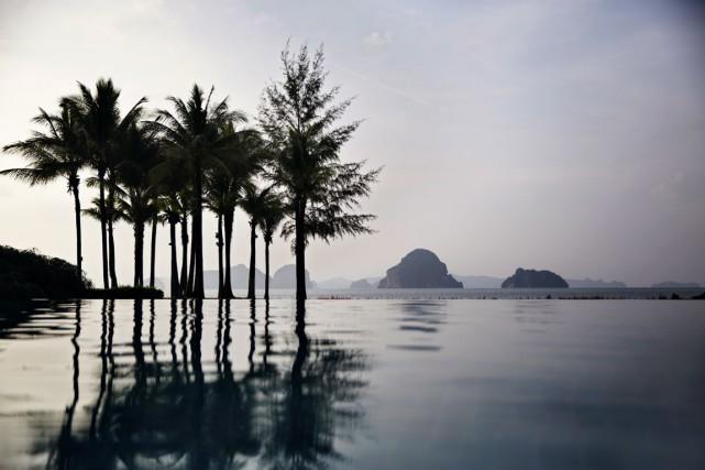 Krabi offre une vue paradiSiaque tout en étant... (Photo Adam Ferguson, The New York Times)