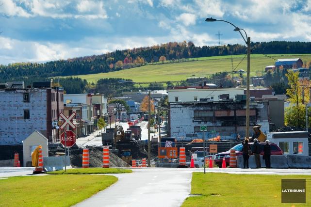 La Ville de Lac-Mégantic aura son guichet unique pour aider les citoyens et les... (Archives La Tribune, Jessica Garneau)